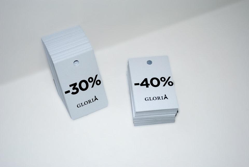 Цінники для магазину одягу
