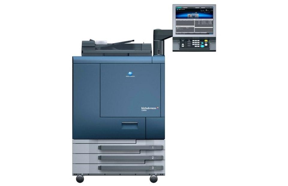 Цифрова друкарська машина Konica Minolta bizhub PRESS C6000